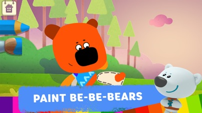 Be-be-bears: Painting for kids