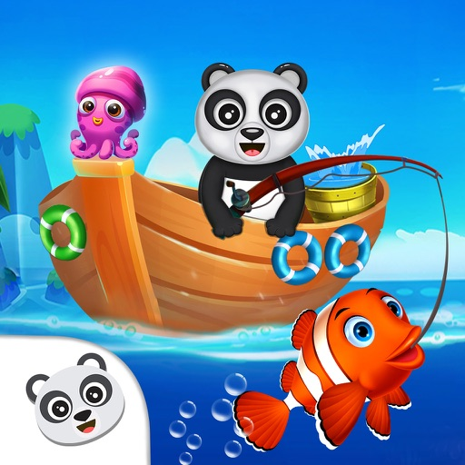 Download Fisher Panda Best Fishing Game free for iPhone, iPod and iPad