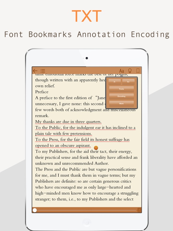 eReader Professional Edition Screenshots