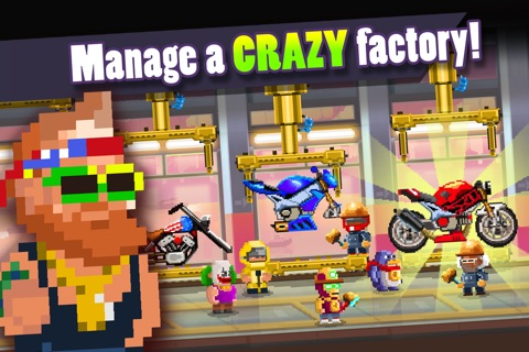Motor World: Bike Factory screenshot 1