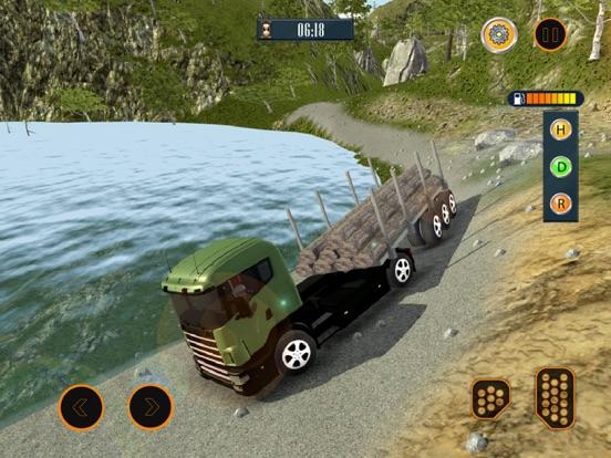 Водитель грузовика: Автостоянка автомобилей Скриншоты7