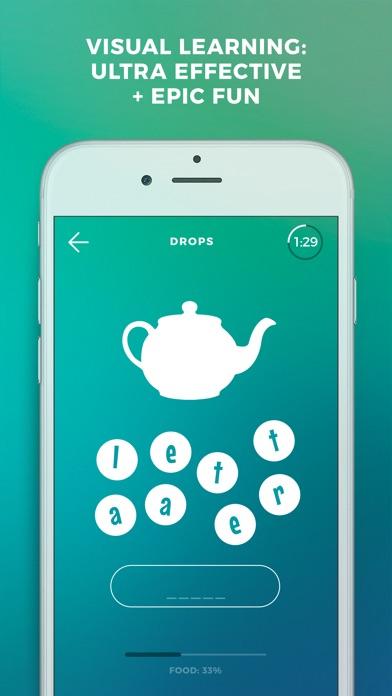 Screenshot of Drops: impara lingua spagnolo1
