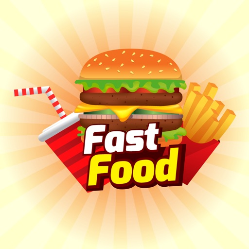 Fast Food Stickers For iMessage