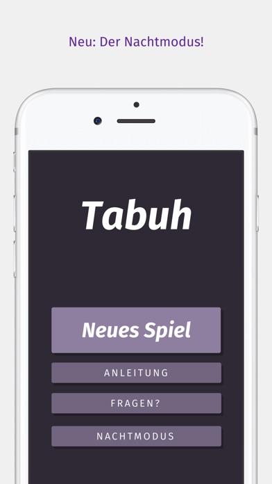 Tabuh — Tabu für iOS Screenshots