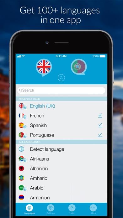 Speak & Translate: Translator Screenshots