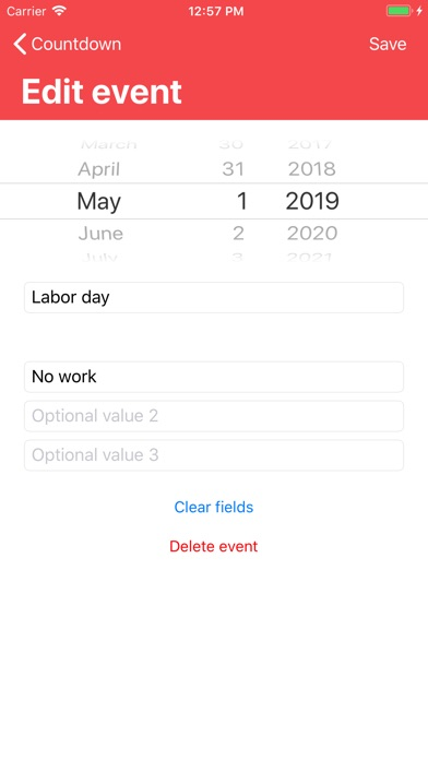 Screenshot of Countdown3
