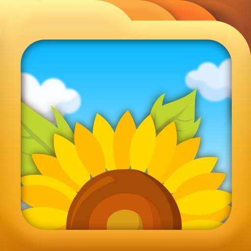 i照片文件夹app icon图
