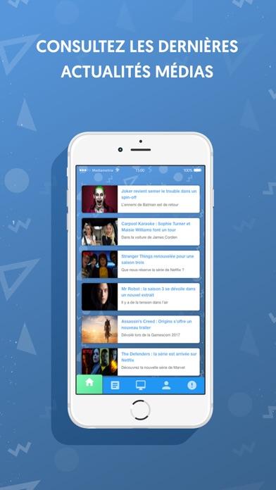 TouchbyMediametrieCapture d'écran de 3