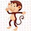 Pankaj Yadav - Animated Monkey: Chat Stickers  artwork