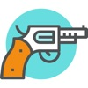 Adesivi pistola - Armi