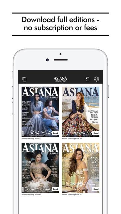 Asiana Wedding Magazine review screenshots