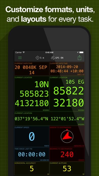 download MilGPS apps 1