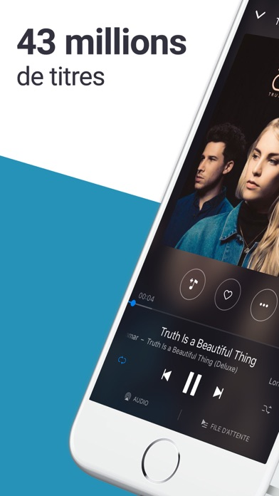 download Deezer: musique mp3 & chansons apps 0