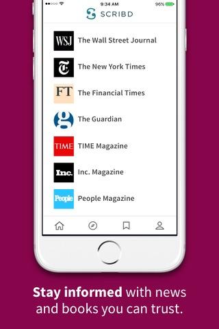 Scribd - Reading Subscription screenshot 2