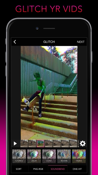 Screenshot #8 for Glitch Wizard - Distort Photos to Trippy GIFs