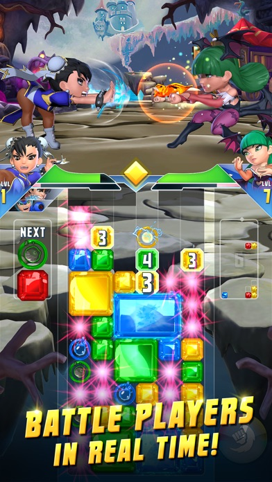 Puzzle Fighter iOS Screenshots