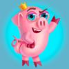 Pig Willie - Set of beautiful cute emoji emotions