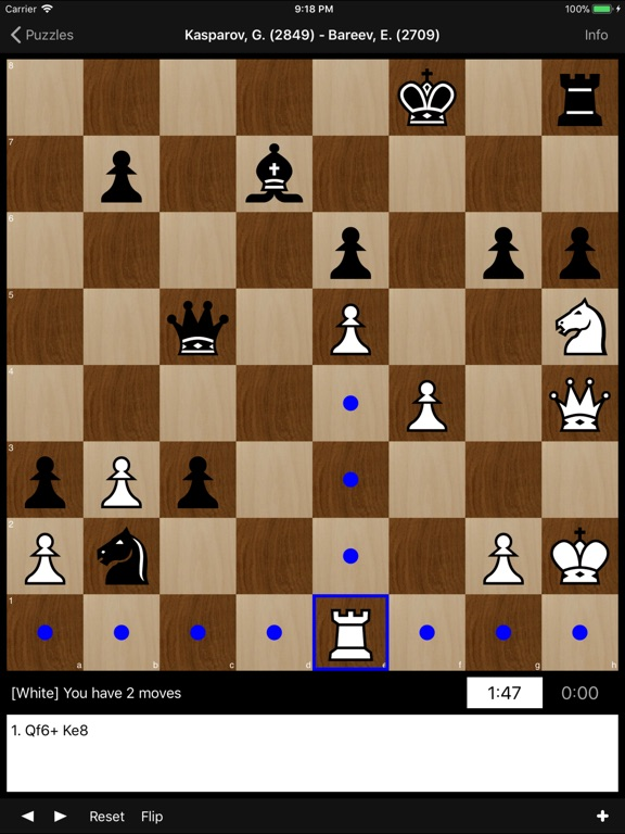 Chess Problems by World Champs на iPad