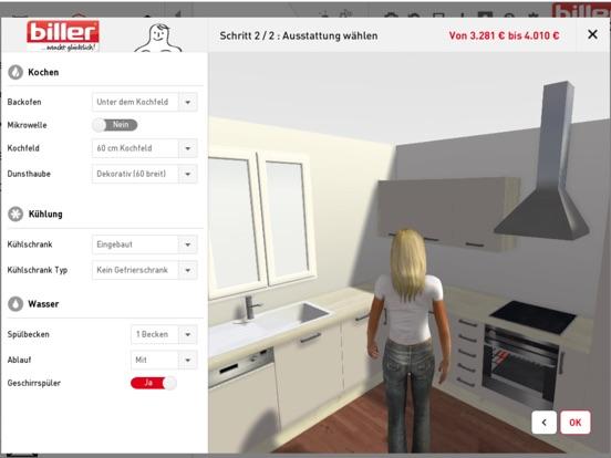 """""""biller Küchenplaner"""" im App Store"""