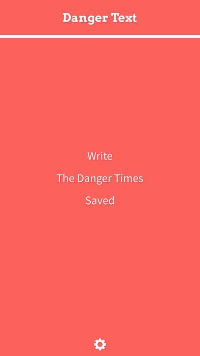Danger Text Screenshots