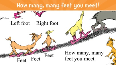 The Foot Book - Read & Learn screenshot 1