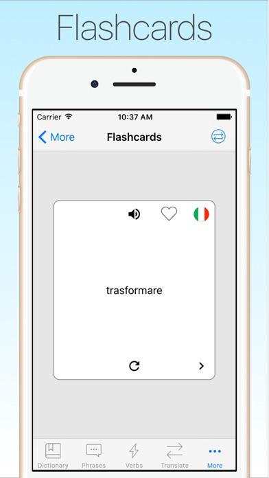 Screenshot #10 for Italian Dictionary & Translator +