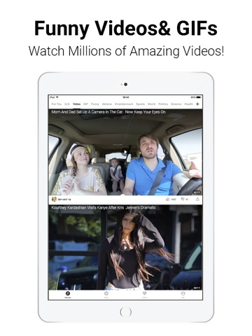 TopBuzz - Viral Videos & News screenshot 1