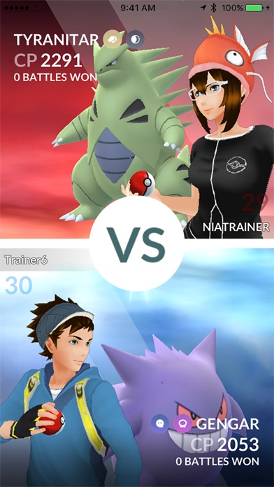 Pokémon GO Screenshots