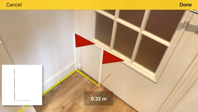 CamToPlan - AR length measure Screenshot 2
