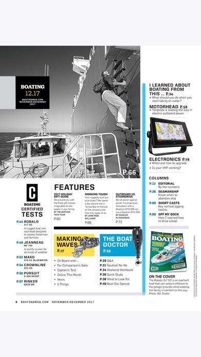 Boating Mag review screenshots