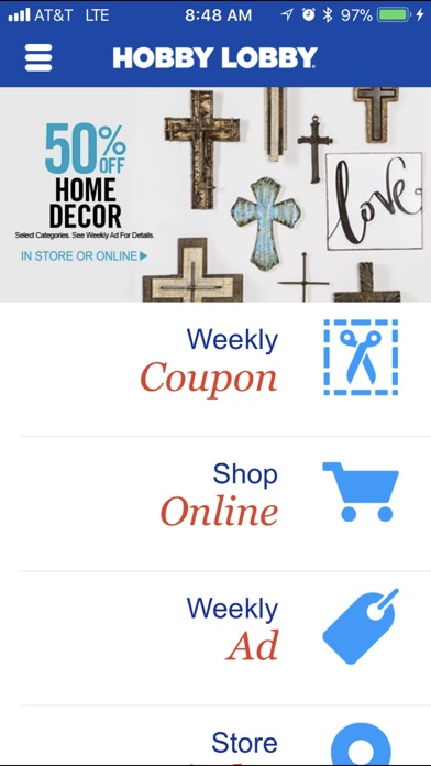 Hobby lobby weekly coupon mobile