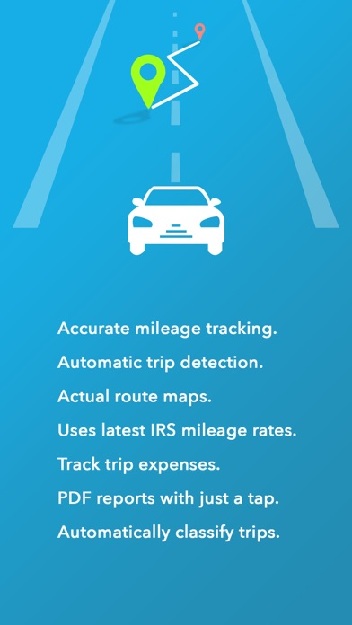 Swift Miles - Mileage Tracker for iOS - New Business Expense Tracker Image