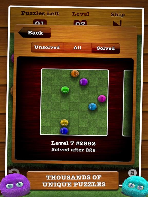 Screenshots of Fling! FREE for iPad