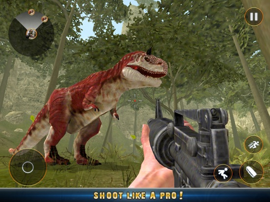 Real Dino Jungle Hunter Pro 3D Скриншоты9