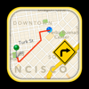GPS Driving Route
