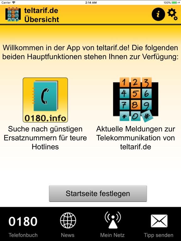teltarif.de-App Screenshot