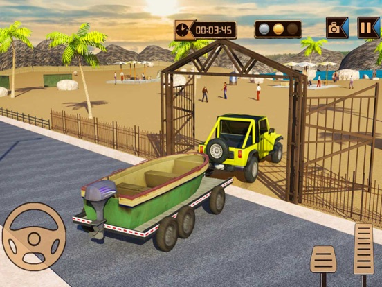 Игра Кемпинг Грузовик имитатор: Машина прицеп Вождение