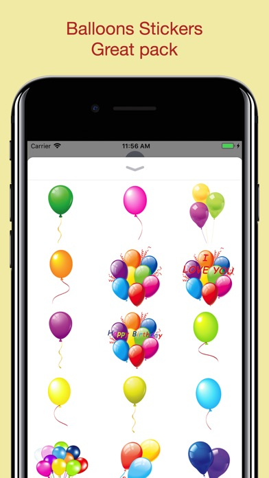 download Balloons Stickers - For party apps 0