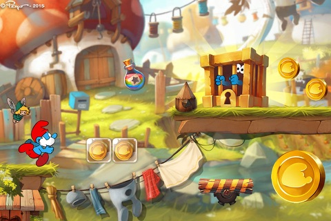 Smurfs Epic Run screenshot 1