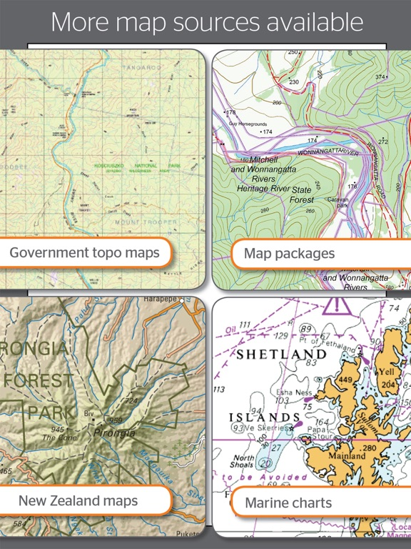 how to use hema maps on ipad