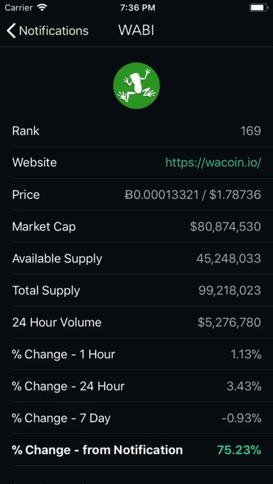 Crypto Tracker Bot Screenshot 2