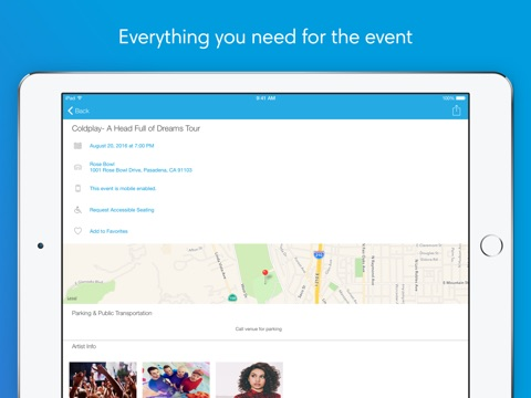 Ticketmaster screenshot 3