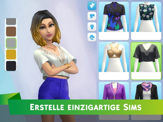 Die Sims™ Mobile iOS Screenshots