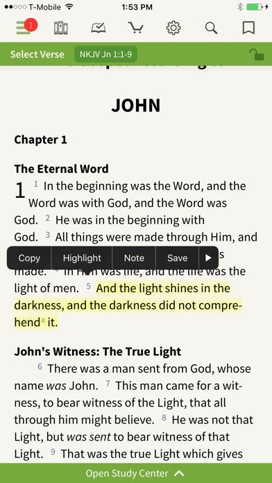 NKJV Bible by Olive Tree screenshot two