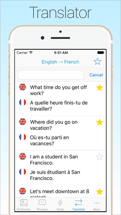 Screenshot #7 for French Dictionary & Translator +