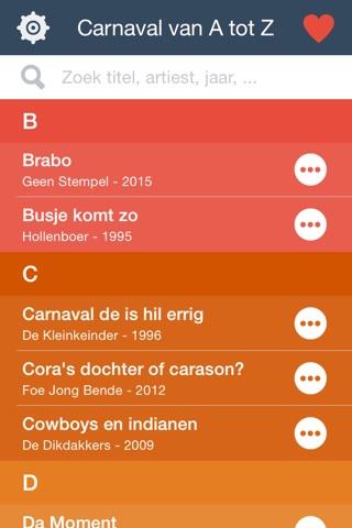 Zangbuukske for Carnaval screenshot 4