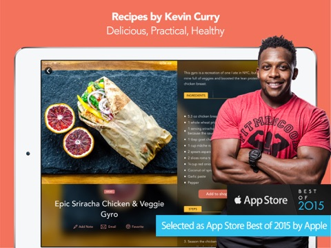 Fit Men Cook - Healthy Recipes screenshot 1