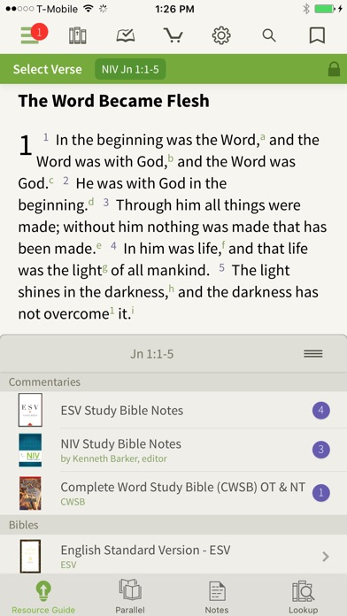 download Bible by Olive Tree apps 1
