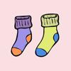 Levi Gemmell - Fresh Sock Stickers  artwork