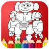 Coloring Book Iron Robot Cartoon Painting Wiki